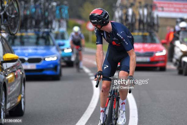 Tao Geoghegan Hart of United Kingdom and Team INEOS Grenadiers during the 85th La Fleche Wallonne 2021, Men Elite a 193,6km race from Charleroi to...