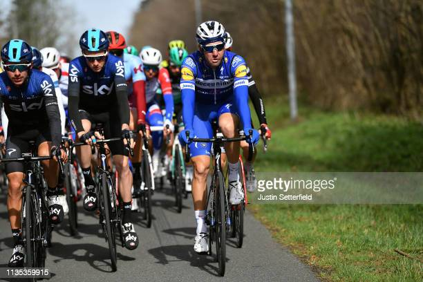 Tao Geoghegan Hart of United Kingdom and Team Sky / Fabio Sabatini of Italy and Team Deceuninck QuickStep / during the 77th Paris Nice 2019 Stage 3 a...