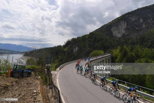 Tao Hart Geoghegan of United Kingdom and Team Sky / Kenny Elissonde of France and Team Sky / Christopher Froome of United Kingdom and Team Sky /...