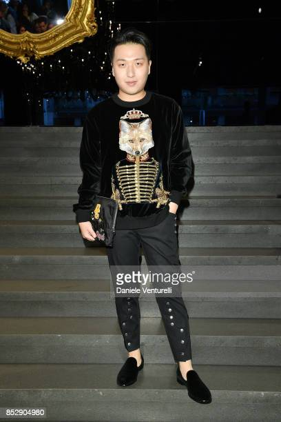 Tao Liang attends the Dolce Gabbana show during Milan Fashion Week Spring/Summer 2018 on September 24 2017 in Milan Italy
