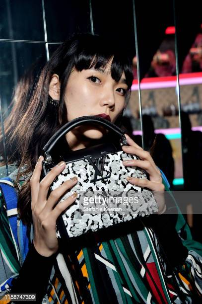 Tao Okamoto attends Louis Vuitton X Opening Cocktail on June 27 2019 in Beverly Hills California