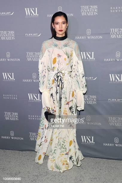 Tao Okamoto attends the 2018 WSJ Magazine Innovator Awards at Museum of Modern Art on November 7 2018 in New York City