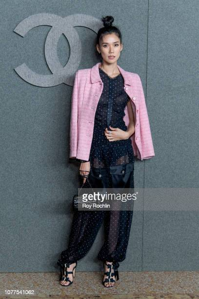Tao Okamoto attends the Chanel Metiers D'Art 2018/19 Show at The Metropolitan Museum of Art on December 04, 2018 in New York City.