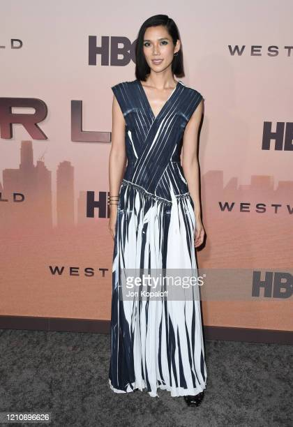 """Tao Okamoto attends the premiere of HBO's """"Westworld"""" Season 3 at TCL Chinese Theatre on March 05, 2020 in Hollywood, California."""
