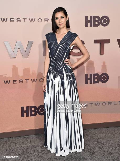 Tao Okamoto attends the premiere of HBO's Westworld Season 3 at TCL Chinese Theatre on March 05 2020 in Hollywood California