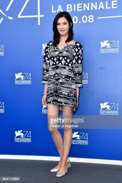 Tao Okamoto attends the 'Zhuibu ' photocall during the 74th Venice Film Festival on September 8 2017 in Venice Italy