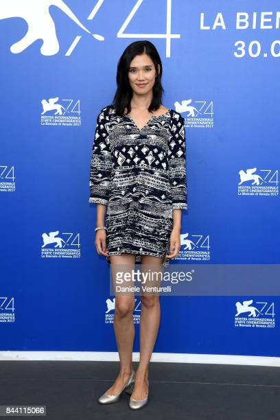 Tao Okamoto attends the 'Zhuibu ' photocall during the 74th Venice Film Festival on September 8, 2017 in Venice, Italy.