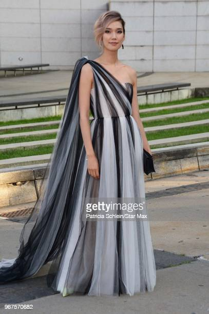 Tao Okamoto is seen on June 4, 2018 at the 2018 CFDA Fashion Awards in New York City.