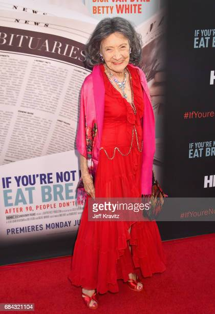Tao PorchonLynch at the LA Premiere of If You're Not In The Obit Eat Breakfast from HBO Documentaries on May 17 2017 in Beverly Hills California