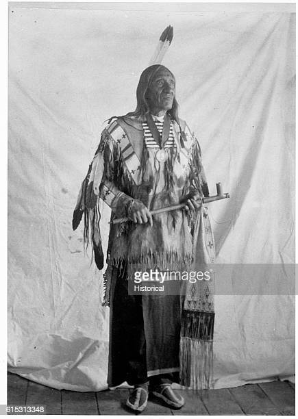 Taoipi CkikalaSiouan Family Ogallala Sioux tribe Hereditary and Head Chief of the Pine Ridge Sioux Age 68 yrs