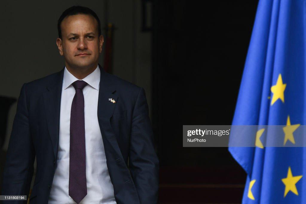 IRL: Taoiseach Leo Varadkar meets EC President Tusk In Dublin