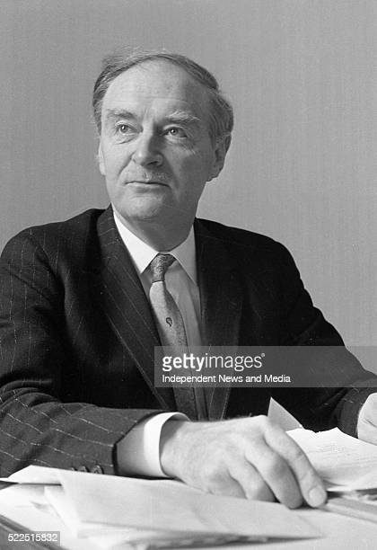Taoiseach Mr Liam Cosgrave in his office in Government Buildings 373438