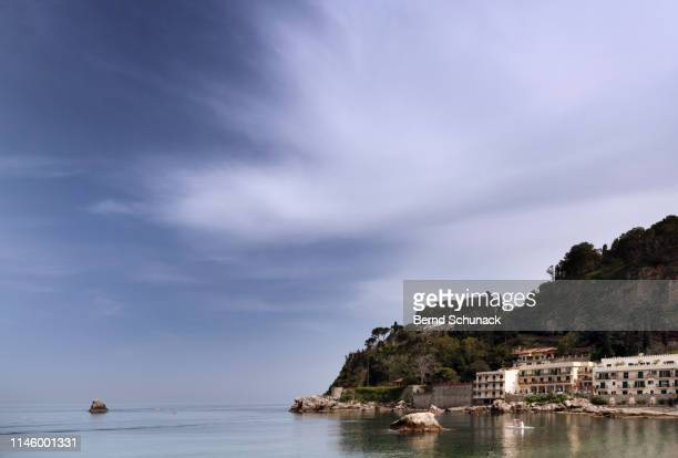 taormina - bernd schunack stock photos and pictures