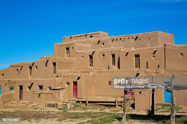 Taos Pueblo, dates to 1000 AD