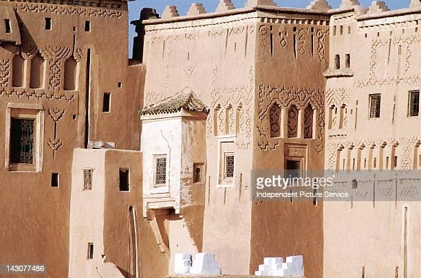 Taourirt Kasbah, Ouarzazate Province, Morocco. Ouarzazate Province is the film capital of Morocco.