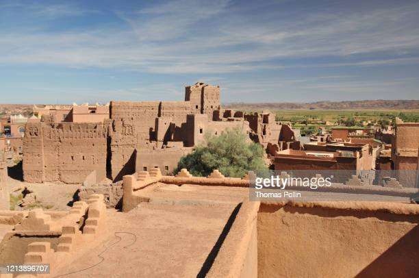 taourirt kasbah - kasbah of taourirt stock pictures, royalty-free photos & images