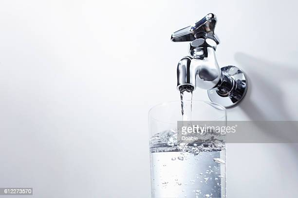 Tap and glass of water