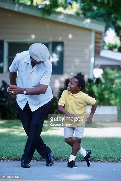 Tap Dancing with Grandpa