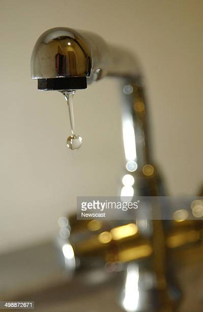 Tap with running water.