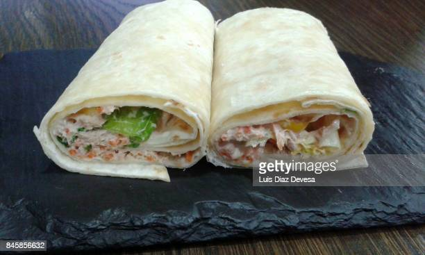 tapa of veggie roll - course meal stock pictures, royalty-free photos & images
