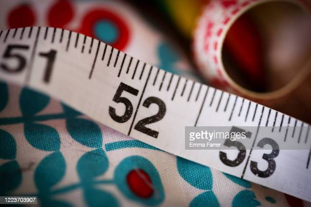 tape measure - needlecraft stock pictures, royalty-free photos & images
