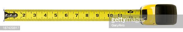 tape measure with clipping path - inch stock pictures, royalty-free photos & images