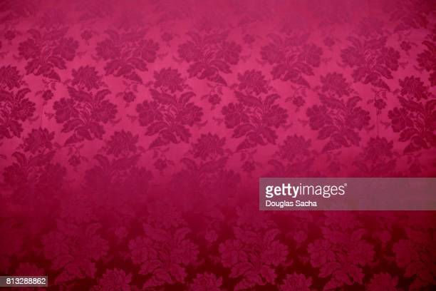 Tapestry fabric with ornate design
