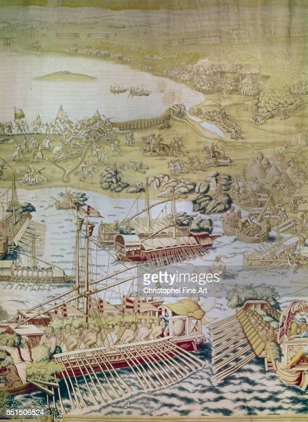 Tapestry The Conquest of Tunis The Battle of La Goletta 1535 Seville Alcazar