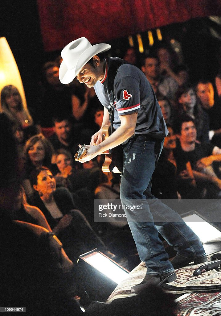 Taping of cmt invitation only with brad paisley photos and images taping of invitation only brad pasley at the grand ole opry housestudio stopboris Images