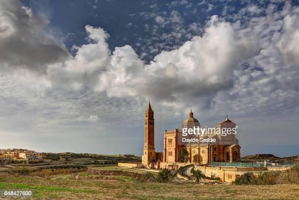 Ta-Pinu church in Gozo, Malta