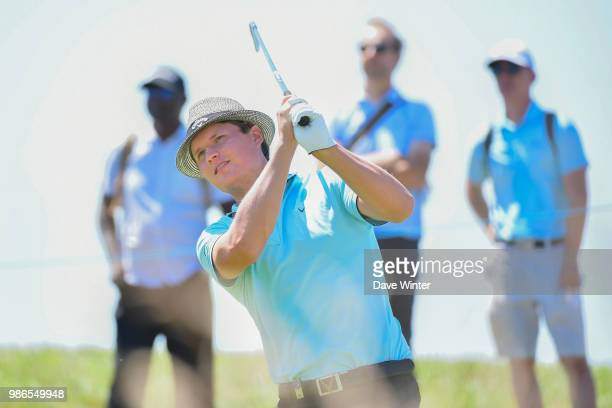 Tapio PULKKANEN of Finland during the HNA French Open on June 28 2018 in SaintQuentinenYvelines France