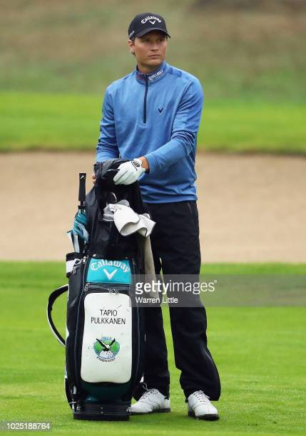 Tapio Pulkkanen of Finland prepares to play on the 14th hole during day one of the Made in Denmark played at the Silkeborg Ry Golf Club on August 30...