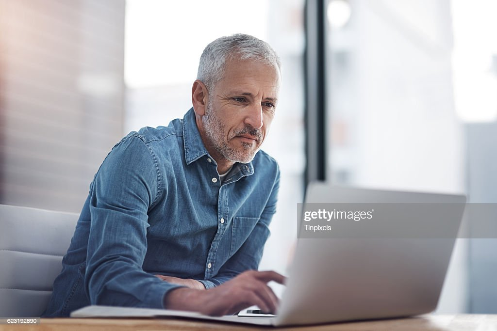 Tapping into business success : Stock Photo