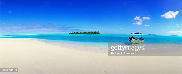 Tapuaetai Island in the Cook Islands