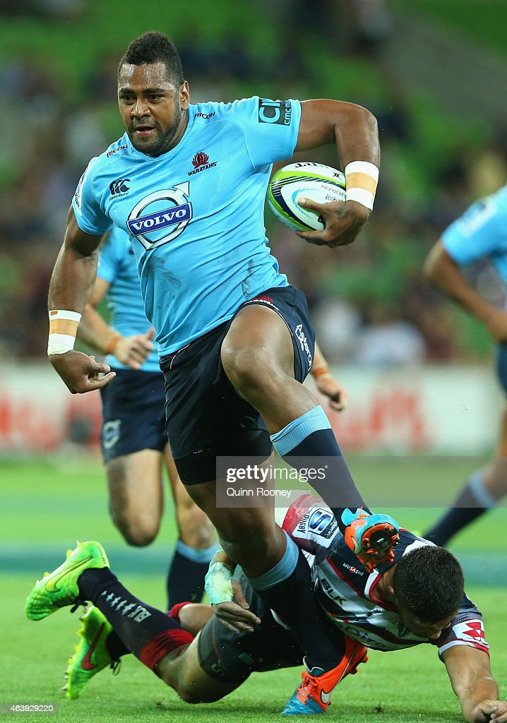 Super Rugby Rd 2 - Rebels v Waratahs