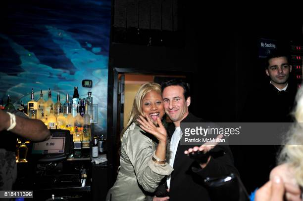 Taquana Marice Harris and David Schlachet attend BONBON at Juliet on January 18 2010 in New York City