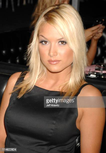 Tara Conner, former Miss USA during First Annual Spike TV's Guys Choice - Backstage and Audience at Radford Studios in Los Angeles, California,...