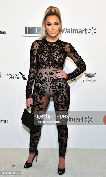 Tara Dollinger attends the 28th Annual Elton John AIDS Foundation Academy Awards Viewing Party Sponsored By IMDb And Neuro Drinks on February 09 2020...