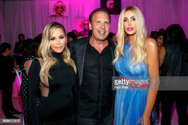 Tara Dollinger David Dollinger and Kaki Swid attend an event where model Kaki Swid hosts a designer event on June 4 2018 in Beverly Hills California