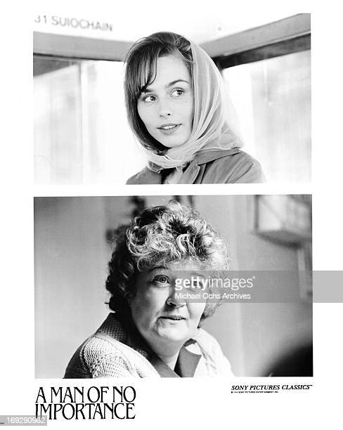 Tara Fitzgerald and Brenda Fricker in scenes from the film 'A Man Of No Importance' 1994
