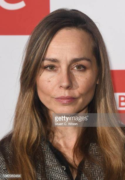 Tara Fitzgerald attends a screening of The ABC Murder at BFI Southbank on December 13 2018 in London England