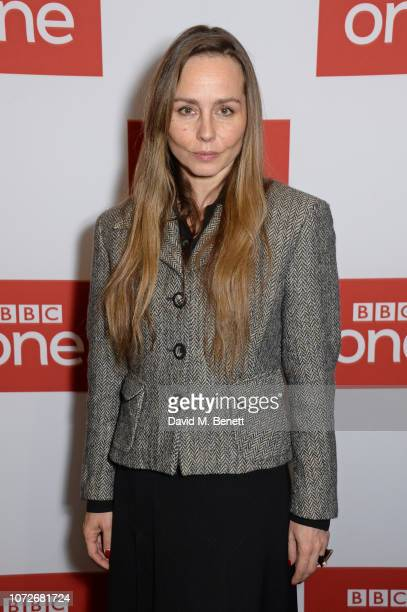 Tara Fitzgerald attends a special screening of new BBC One drama 'The ABC Murders' at the BFI Southbank on December 13 2018 in London England