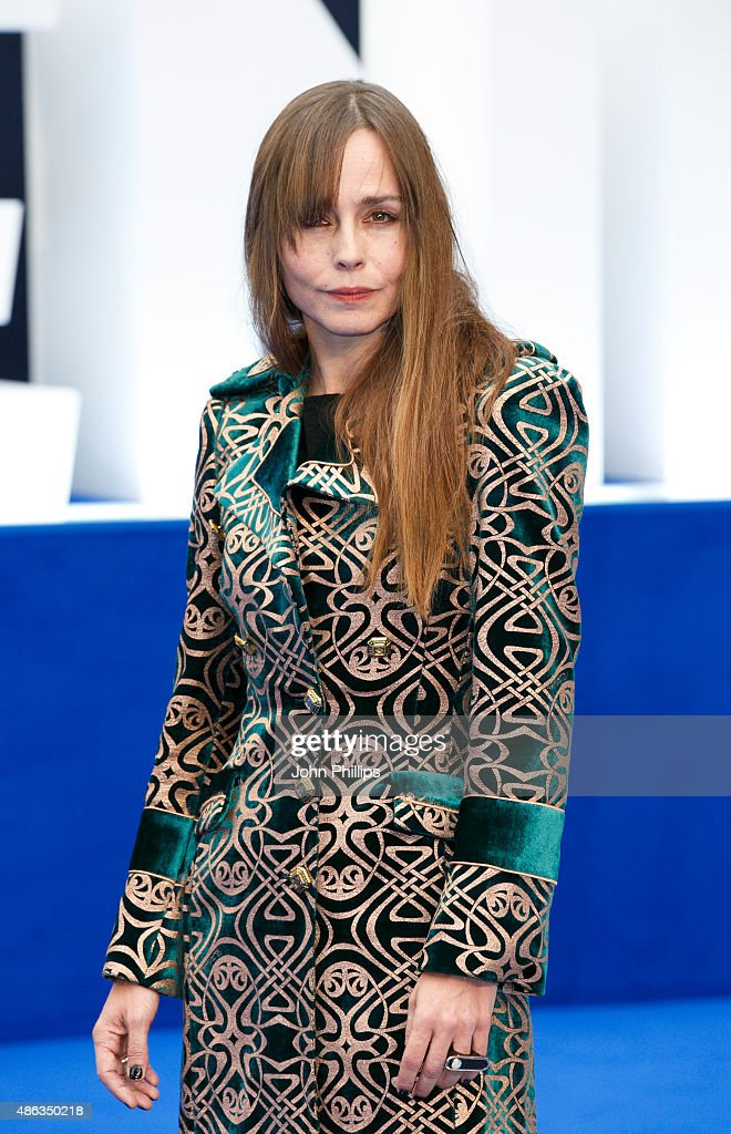 Tara Fitzgerald attends the UK Premiere of 'Legend' at Odeon Leicester Square on September 3, 2015 in London, England.