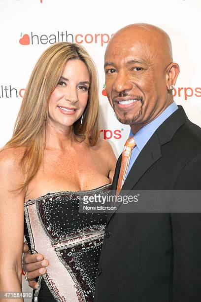 Tara Fowler and Montel Williams attend the 9th Annual HealthCorps' Gala at Cipriani Wall Street on April 29 2015 in New York City