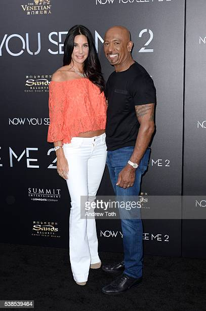 Tara Fowler and Montel Williams attend the Now You See Me 2 world premiere at AMC Loews Lincoln Square 13 theater on June 6 2016 in New York City