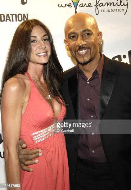 Tara Fowler and Montel Williams during Nile Rodgers' We Are Family Foundation's Fifth Annual Celebration at Manhattan Center's Hammerstein Ballroom...