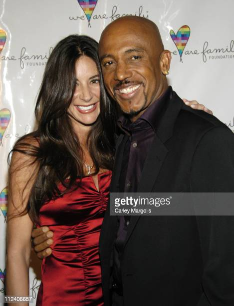 Tara Fowler and Montel Williams during We Are Family Foundation To Honor Sir Elton John Quincy Jones Tommy Hilfiger and The Comcast Family of...