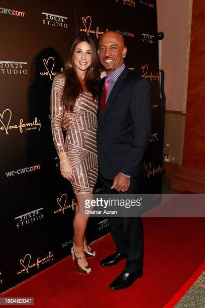 Tara Fowler and TV personality Montel Williams attend 2013 We Are Family Foundation Gala at Hammerstein Ballroom on January 31 2013 in New York City