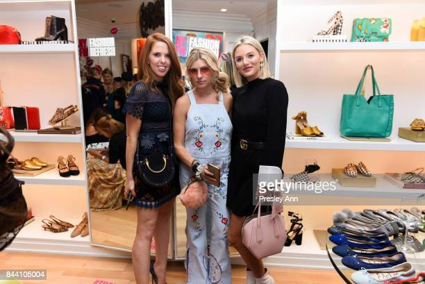 Tara Gibson Guest and Sage Coralli attend Sam Edelman NYFW Fashion Refresh on September 7 2017 in New York City