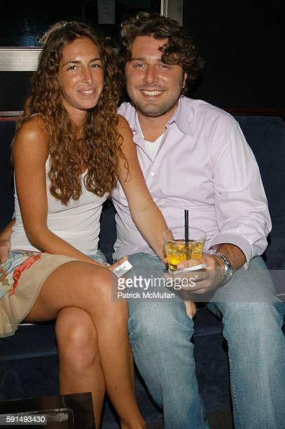 Tara Goldman and Danny Divine attend May Anderson's Birthday Party at 49 Grove NYC USA on June 21 2005